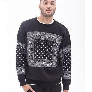 COPY - Black Bandana Sweater